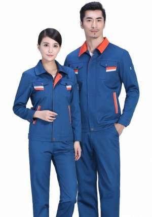 纯棉工装透气性决定了工装的舒适度